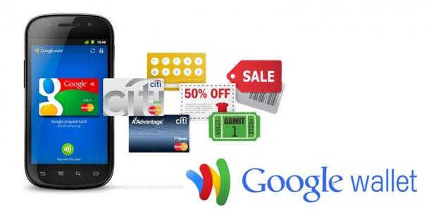 Aux États-Unis, Google va jusqu'à proposer une carte bancaire gratuite associée à son système de paiement sur téléphone mobile, Google Wallet. / DR