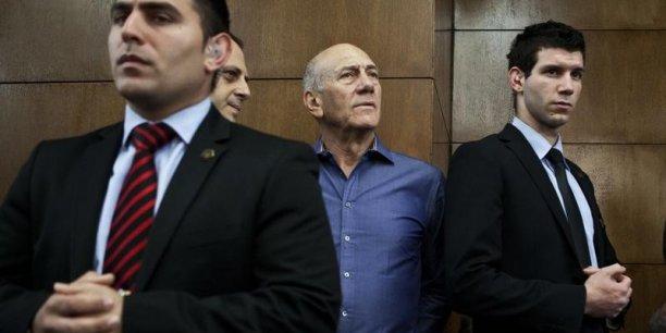 Ehud Olmert a également été condamné pour faux témoignage, pour avoir tenté de ternir la réputation du témoin principal de l'accusation. (Photo: Reuters)