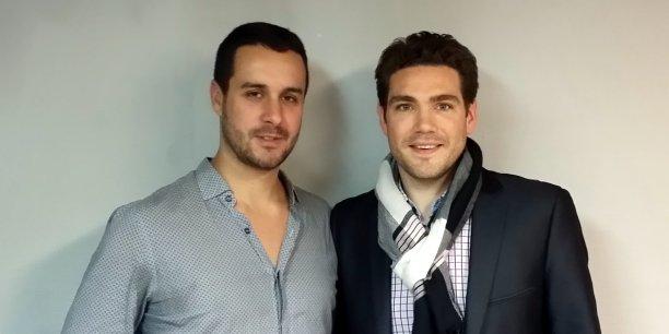 Sylvain Tillon et Thimothée Saumet, co-associés de Tilkee