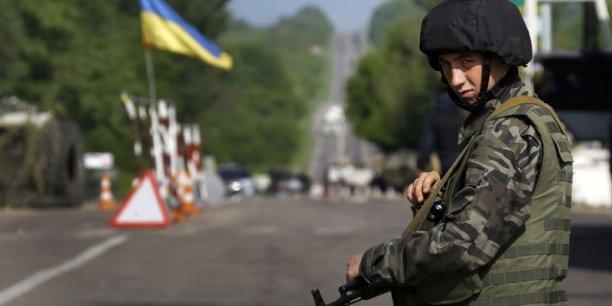 Une quarantaine de séparatistes auraient été tués par le force ukrainiennes