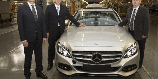 Démarrage de la nouvelle Classe C de Mercedes à Brême
