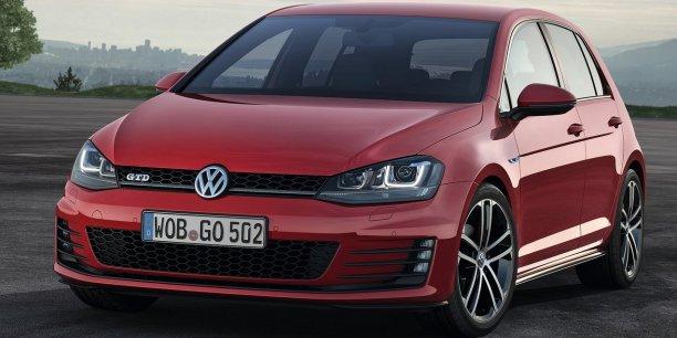 La Volkswagen Golf VII