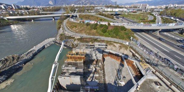 La centrale du Rondeau à Echirolles dans l'agglomération grenobloise. © EDF - Dominique Guillaudin