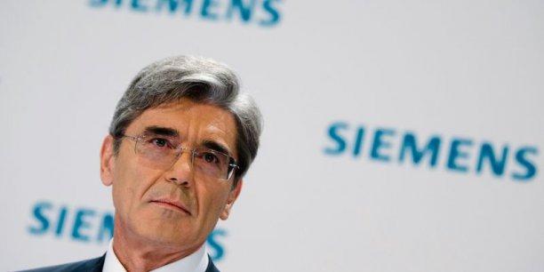 Le groupe munichois avait présenté fin avril les grandes lignes d'une contre-offre valorisant la branche d'énergie d'Alstom à 14,5 milliards de dollars. (Photo : Reuters)