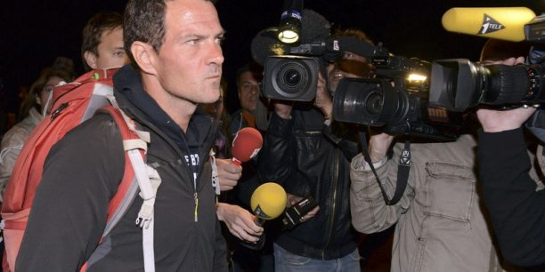 Jérôme Kerviel aura maintenu pendant deux jours le suspense face aux caméras qui lui ont offert une tribune inespérée. (Photo : Reuters)