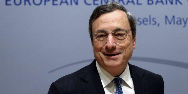 Mario Draghi pourrait tenir sa conférence de presse toutes les six semaines