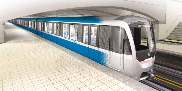 Le nouveau métro de Montréal est trop haut pour certains tunnels