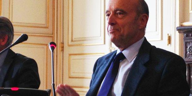 Alain Juppé, président de Bordeaux Métropole