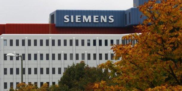 La part de numéraire dans la proposition de Siemens ne devrait être que légèrement supérieure à 50% du montant offert par GE (12,35 milliards d'euros). (Photo : Reuters)