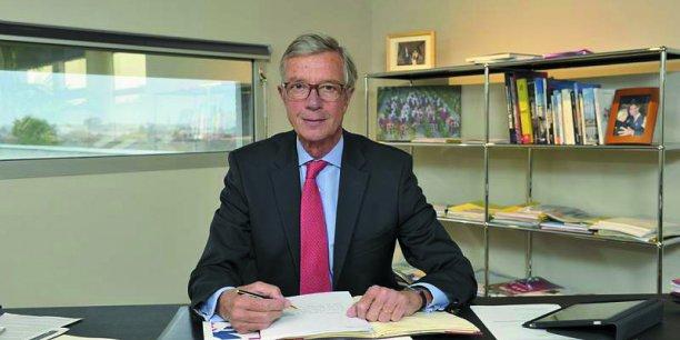 Laurent Courbu, président de la CCIR d'Aquitaine