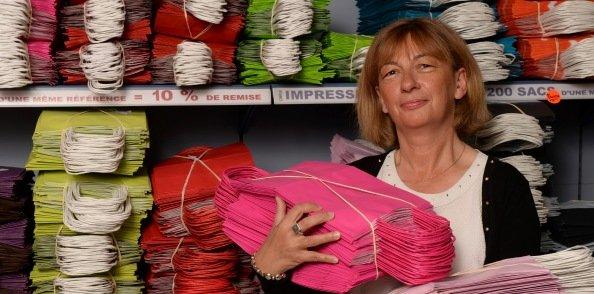 Christine Ollier, lauréate du prix du rebond. Crédits : Laurent Cérino