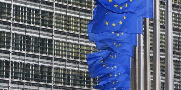 Le siège de la Commission à Bruxelles, dans le quartier de Berlaymont.