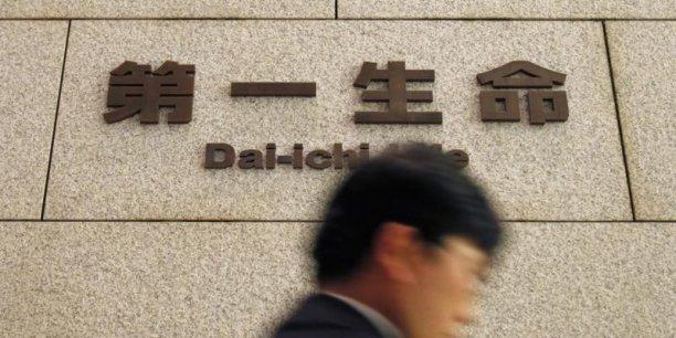En Bourse, l'action de l'assureur nippon a chuté de 4,97% ce lundi. (Photo Reuters)