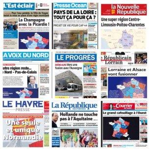 Le Premier ministre Manuel Valls indique mardi matin que le découpage des régions annoncé hier soir peut encore évoluer. /Twitter