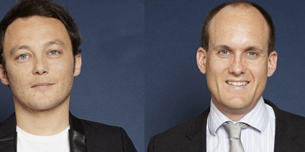 Matthieu Glayrouse et Arnaud Desrentes