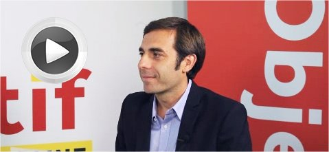 Mathieu Llorens, directeur général d'AT Internet.