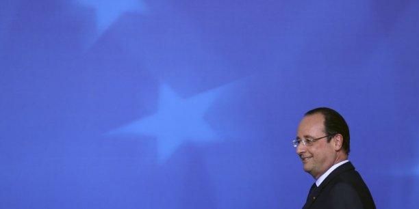 Hollande ne veut pas de Juncker à la présidence de la Commission européenne. / Reuters