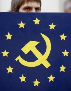 Pour Janusz Korwin-Mikke, probable allié du FN au parlement européen, l'UE est un projet communiste