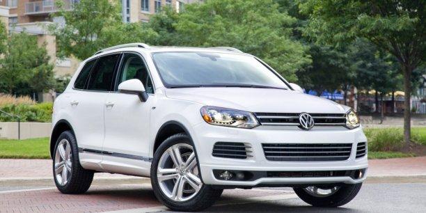 Le SUV Volkswagen Touareg participe au succès du groupe allemand
