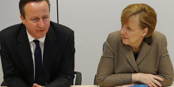 La relation entre Angela Merkel et David Cameron pourrait se refroidir. Durablement ?