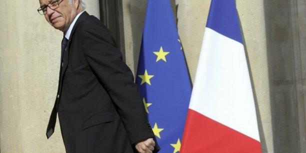 François Rebsamen, le ministre du Travail, s'attend au mieux à une stabilisation du nombre de chômeurs cette année. (Photo : Reuters)