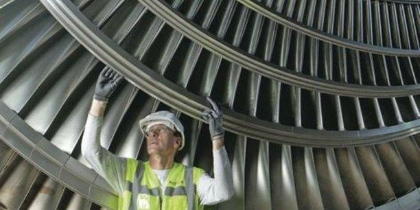 Les turbines d'Alstom, convoitées de concert par l'américain GE et l'allemand Siemens. / DR