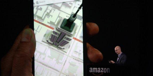 Le Fire Phone, dont l'Américain AT&T sera l'opérateur exclusif, sera proposé pour un prix variant de 199 à 649 dollars selon les options.