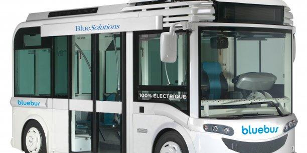 La filiale du groupe Bolloré, Blue Solutions, fabriquera les nouveaux bus éléctrique de la RATP. /Crédit: groupe Bolloré.