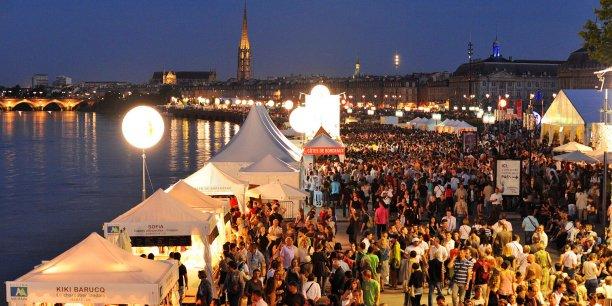 Bordeaux Fête le vin, l'un des événements-phares de la ville