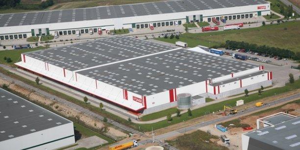 APRC group fait construire actuellement 130 000 mètres carrés d'entrepôts logistiques.