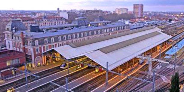 La gare Matabiau sera à 3 h 10 de Paris lorsque la Ligne à grande vitesse (LGV) desservira Toulouse, en 2024. / DR