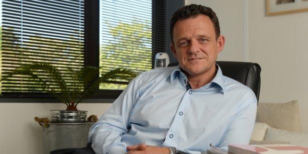 Laurent Fiard a été élu président du Medef Lyon-Rhône, le 10 juin dernier © Laurent Cérino/Acteurs de l'économie