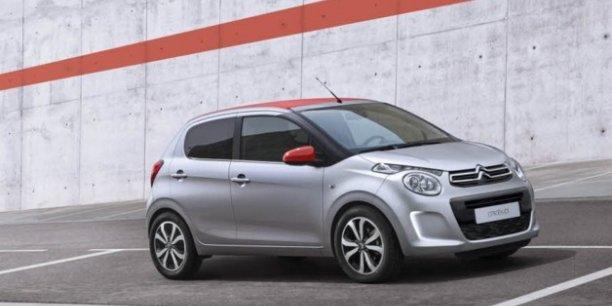 les petites voitures font baisser le co2 mais desservent