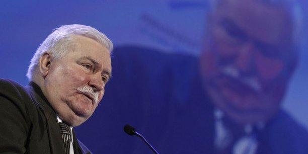 Lech Walesa, l'ancien chef de l'État polonais et Prix Nobel de la paix. / Reuters