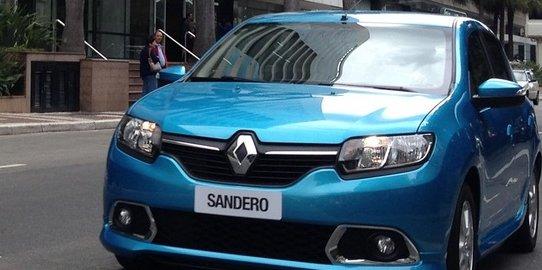 la Renault Sandero II brésilienne