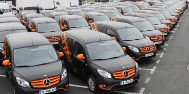 Les Mercedes Citan ne sont que des Renault Kangoo rebaptisés. /Reuters