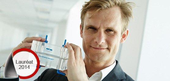 Holme Jensen, l'un des deux fondateurs de l'entreprise Aquaporin.