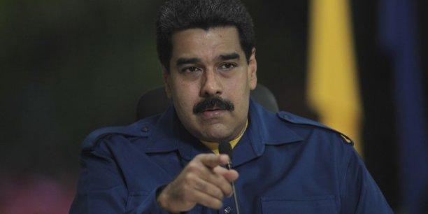 Nicolas Maduro, président du Venezuela, accuse les Etats-Unis de mener une guerre du pétrole.