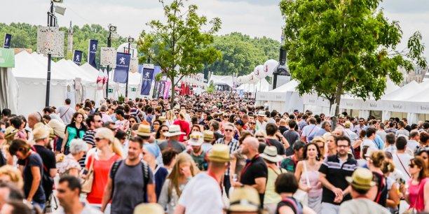 Bordeaux Fête le vin attend 750.000 visiteurs du 23 au 26 juin.