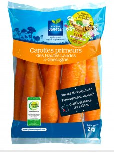 1 million de sachets de carottes primeurs vont proposer aux consommateurs de sauver l'abeille noire des Landes.