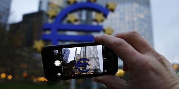 La banque centrale européenne, à Francfort