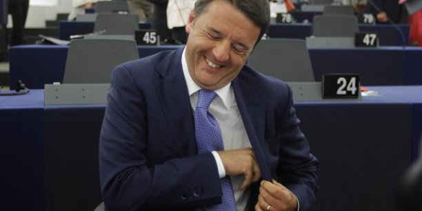 Matteo Renzi, la coqueluche de l'Europe...