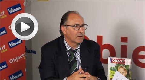Bernard Artigue, président de la Chambre d'agriculture de la Gironde