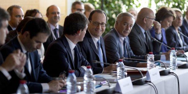 La secrétaire de la FSU, Bernadette Groison, déplore que François Hollande n'ait pas évoqué lundi le rôle que doivent jouer dans notre pays la fonction publique et les services publics. (Photo : Reuters)