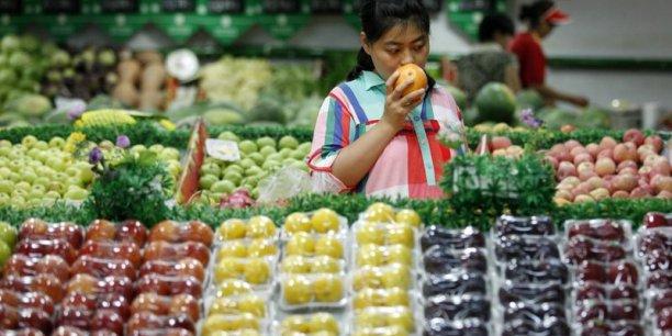 Les prix de l'alimentation ont crû de 3,6% en Chine en juillet.