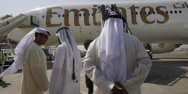 Plus gros client de l'A380, Emirates a encore 90 appareils de ce type en commande. (Photo : Reuters)