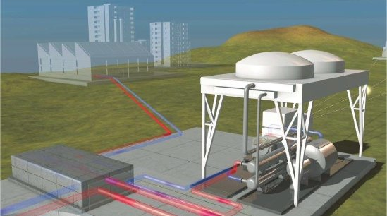 Geostras ira chercher les ressources géothermiques à plus de 3 km de profondeur (crédit photo Fonroche)