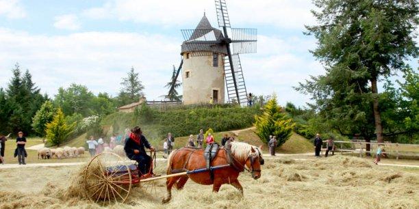 L'Aquitaine est une des régions touristiques les plus attractives, ci-dessus le site de Le Bournat, en Dordogne. Crédit : DR.