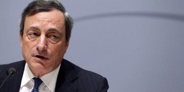 Mario Draghi semble accepter un QE désormais.
