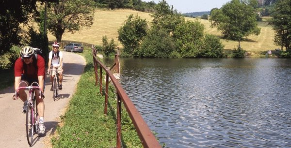 Les points d'eaux et lacs ont particulièrement attirés les visiteurs, du fait des fortes chaleurs.